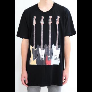 Ethan wears Steve Klein's Fender Custom Jazzmasters