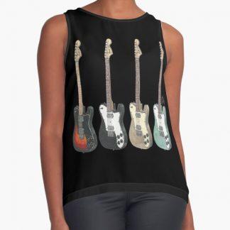 Alex Gaskarth's Fender Telecasters